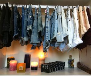 fashion, shorts, and candle image