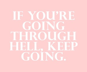 pink, quote, and life image