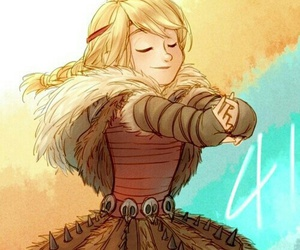 astrid and how to train your dragon image