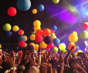 balloons, coldplay, and colorful image