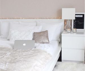 apple, bed, and decoration image