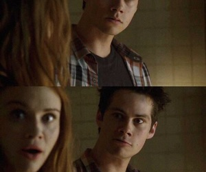 couple, teen wolf, and holland roden image