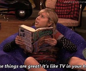 book, icarly, and Sam image