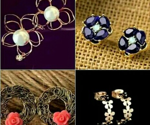 fashion style trend, art draw amazing, and earrings prom party image