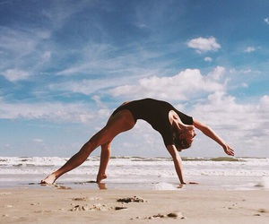 beach and fitness image