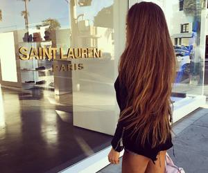 hair, girl, and luxury image