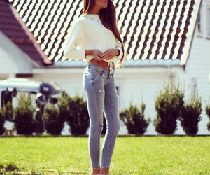 body, jeans, and sexy image