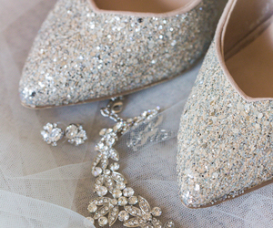 crystals, fashion, and shoes image
