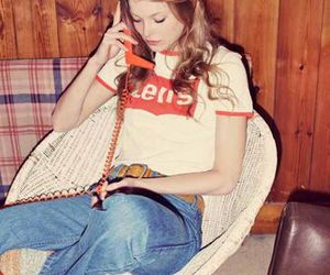 vintage, girl, and 70s image