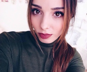 girl, cute, and youtuber image