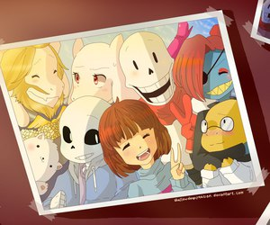 rpg game, undertale, and frisk image