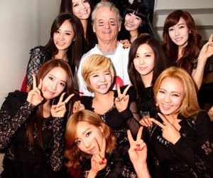 snsd, girls generation, and bill murray image