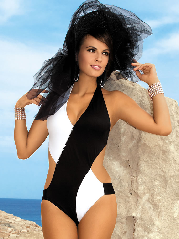 Swimwear 2012 Chic Glamour Monokini Designer Swimsuits 2012 European