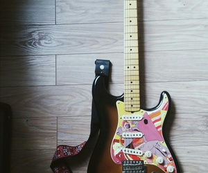 art, fender, and grunge image