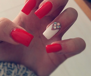beauty, glamour, and nails image