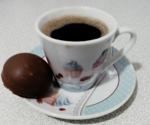 coffe, drink, and glass image
