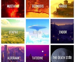 naboo, star wars, and tatooine image