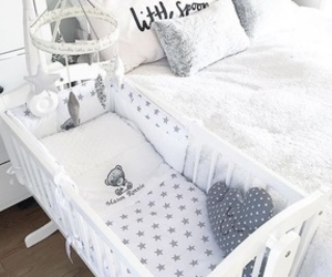 baby, bedroom, and cot image