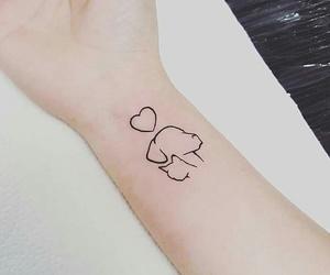 tattoo, dog, and cat image
