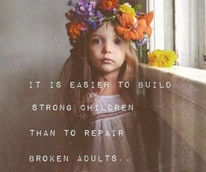 child, quotes, and broken image