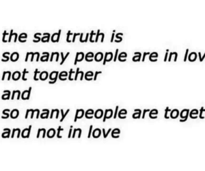 love, sad, and truth image