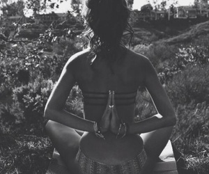 yoga, nature, and summer image