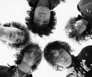 the strokes, black and white, and julian casablancas image