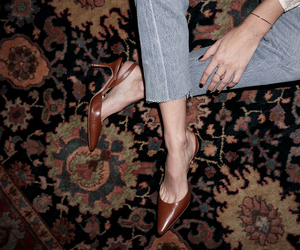 jeans, shoes, and style image