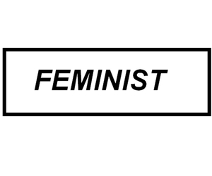 black and white, caps, and feminism image