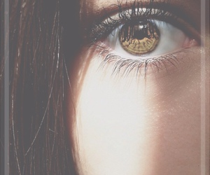 eyes, girl, and eye image