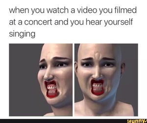 funny and concert image