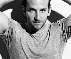 bradley cooper, sexy, and black and white image