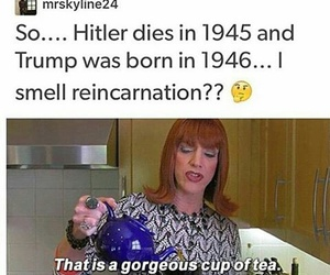 donald, funny, and hitler image