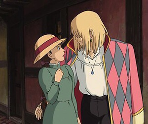 howl's moving castle, studio ghibli, and anime image