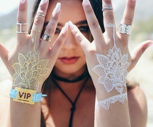 coachella, girl, and nails image