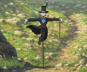 anime, ハウルの動く城, and howl's moving castle image