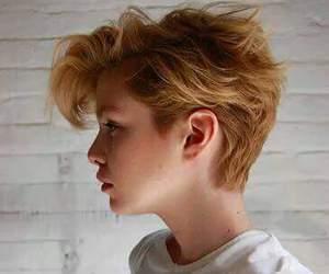 hair and short image