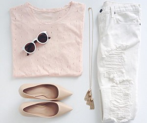 baby pink, fashion, and outfit image