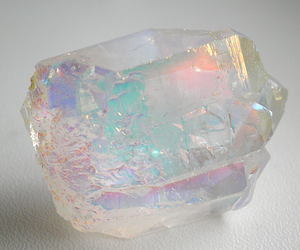 crystal, aesthetic, and rainbow image
