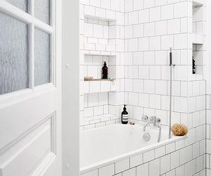 bath, white, and details image