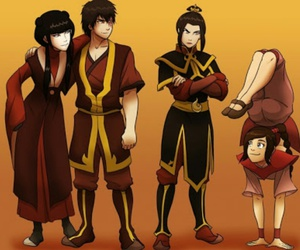 zuko, azula, and ty lee image