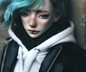 bjd, doll, and puppet image