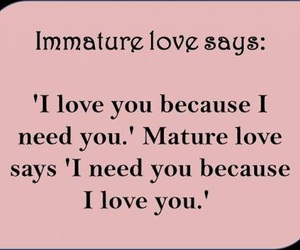 love, quote, and mature image