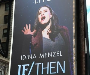 broadway, idina menzel, and musicals image