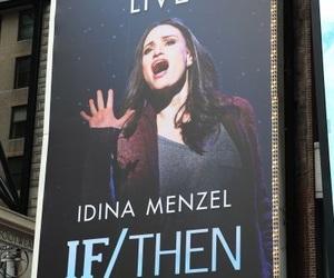 broadway, idina menzel, and musicals image