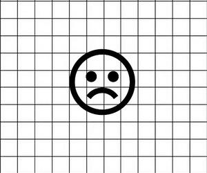 black, sad, and sad face image