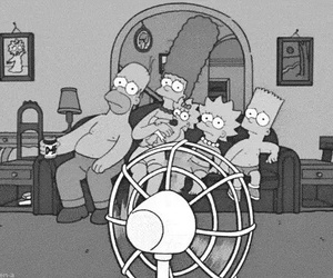 the simpsons, Hot, and simpsons image
