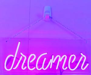 purple, dreamer, and tumblr image
