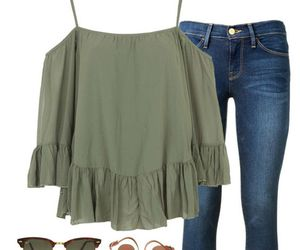 outfit, casual, and dress image