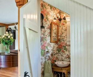 bathroom, home decor, and cottage style image